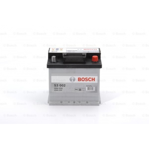 Аккумулятор BOSCH S3 SILVER 45 А*ч -/+ 400A 0092S30020