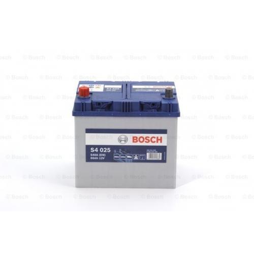 Аккумулятор BOSCH S4 ASIA SILVER 60 А*ч +/- 540A 0092S40250
