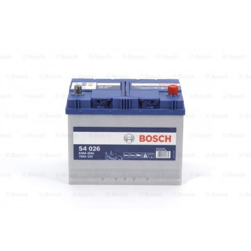 Аккумулятор BOSCH S4 ASIA SILVER 70 А*ч -/+ 630A 0092S40260