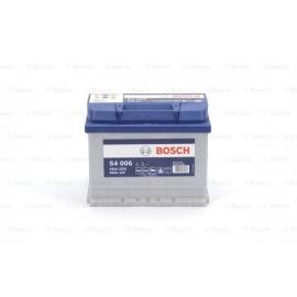Аккумулятор BOSCH S4 SILVER 60 А*ч +/- 540A 0092S40060