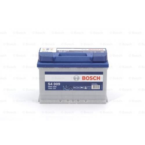 Аккумулятор BOSCH S4 SILVER 74 А*ч +/- 680A 0092S40090