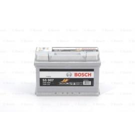 Аккумулятор BOSCH S5 SILVER 74 А*ч -/+ 750A 0092S50070