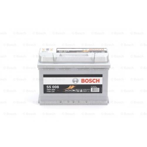 Аккумулятор BOSCH S5 SILVER 77 А*ч -/+ 780A 0092S50080