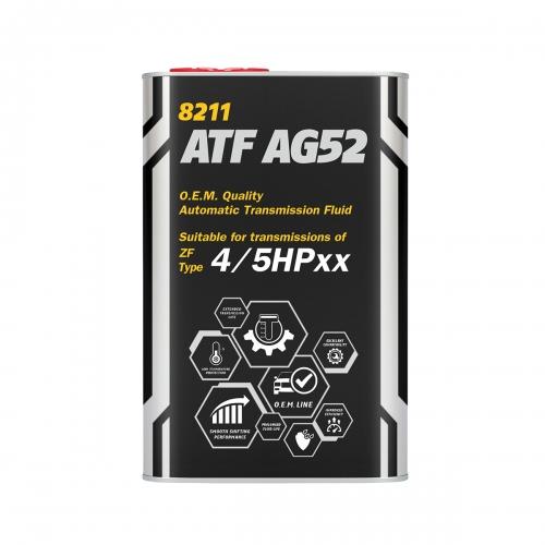Трансмиссионное масло ATF AG52 1л