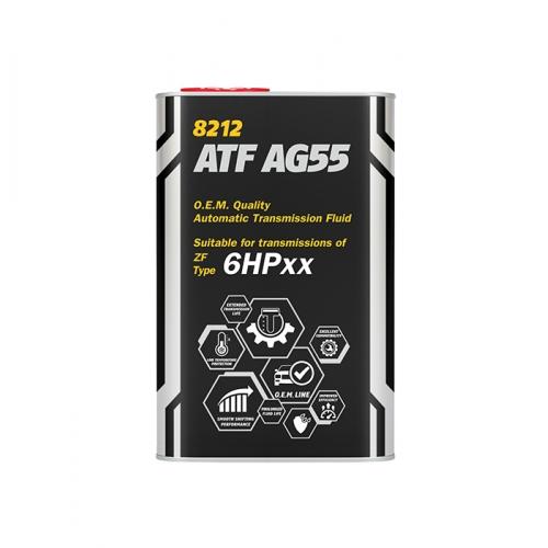 Трансмиссионное масло ATF AG55 1л