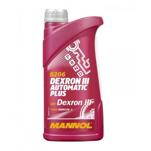 Трансмиссионное масло АUТОMАTIC PLUS ATF DEXRON III 1л
