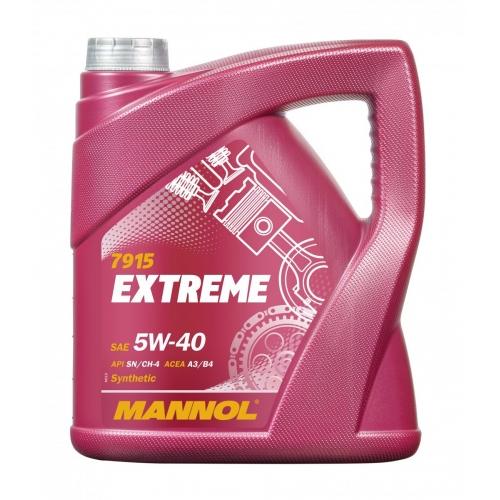 Моторное масло EXTREME 5W-40 SN/CF 4л