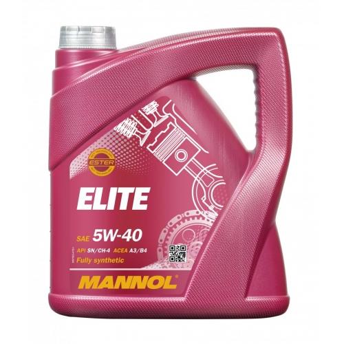 Моторное масло ELITE 5W-40 SN/CF 4л