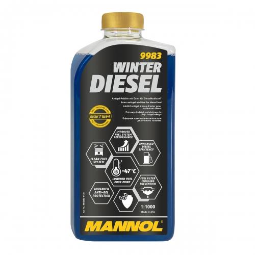 9983Winter Diesel / Зимовий антигель-мегаконцетрат для дизельних д.в.з. (-47)