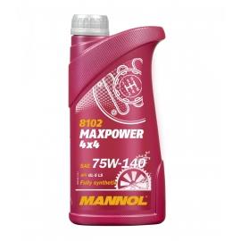 Трансмиссионное масло MAXPOWER 4x4 75W-140 1л