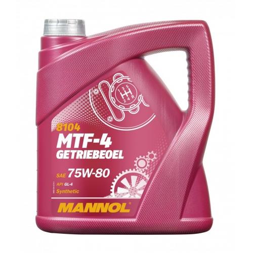 Трансмиссионное масло MTF-4 Getriebeoel 75W-80 4л