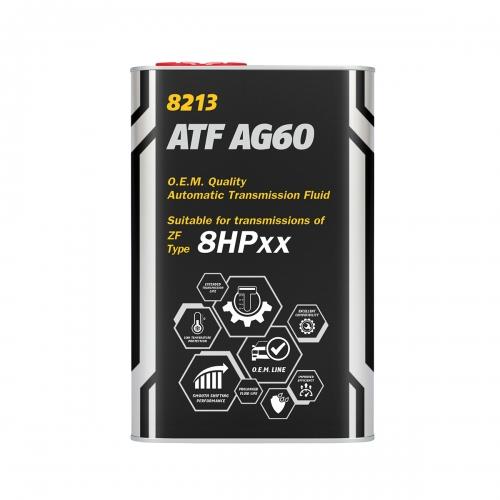 Трансмиссионное масло ATF AG60 1л