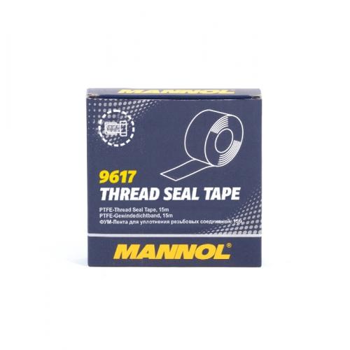 9617 Thread Seal Tape 15м /19мм /0,075мм./ фторопластовая стрічка