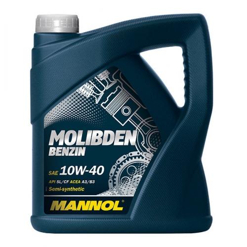 Моторное масло MOLlBDEN BENZIN 10W-40 SL/CF 4л