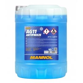 Антифриз синий Antifreeze AG11  -40 (blue) 10л