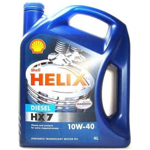 Helix HX7 Diesel 10W-40 (CF, A3/B4 + OEMs), 4л