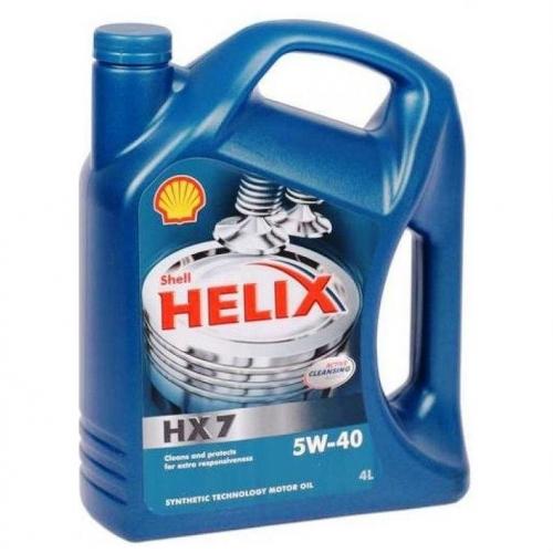 Helix HX7 5W-40 (SN/CF A3/B4), 4л