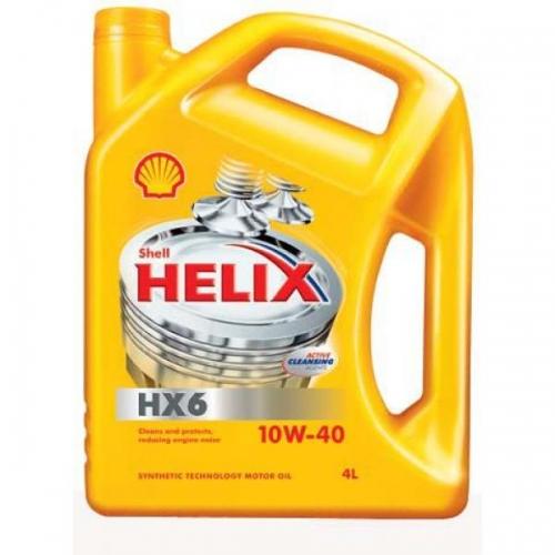 Helix HX6 10W-40 (SN/CF A3/B3), 4л