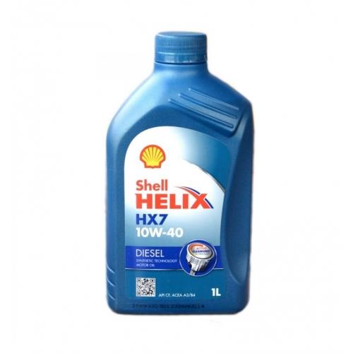 Helix HX7 Diesel 10W-40 (CF, A3/B4 + OEMs), 1л